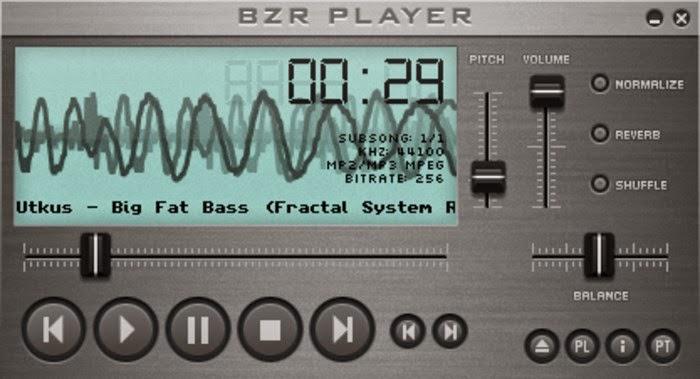 تنزيل برنامج مشغل الصوت BZR Player على الكمبيوتر كامل برابط واحد