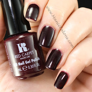 Red Carpet Manicure I Own the Runway Swatch