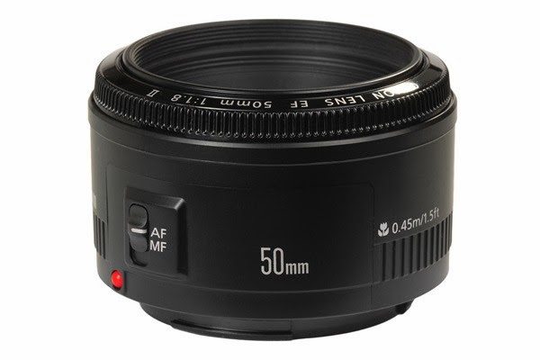 """Canon EF 50mm f/1.8 II 'Nifty Fifty"""" Lens"""