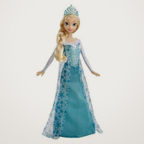 Gambar boneka elsa frozen untuk anak