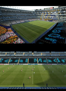 Download Mosaic Stadium Real Madrid by Asun11
