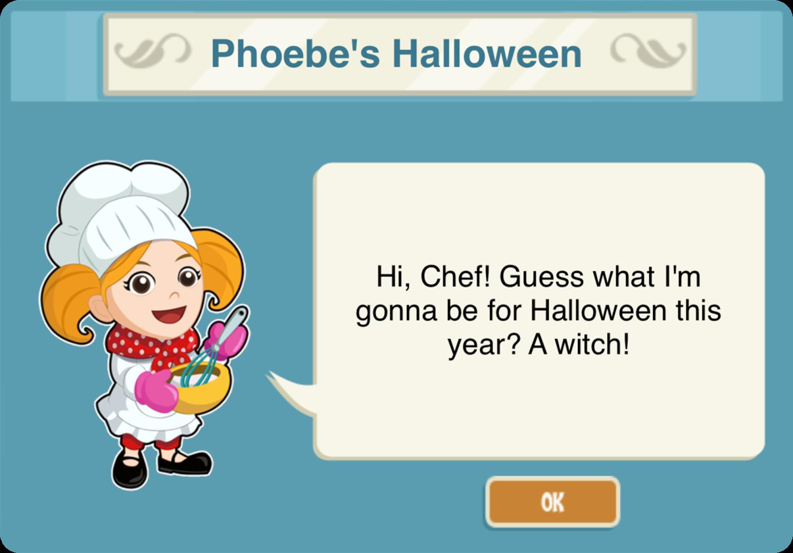 Restaurant Story Adventures: Game update: 14/10/15
