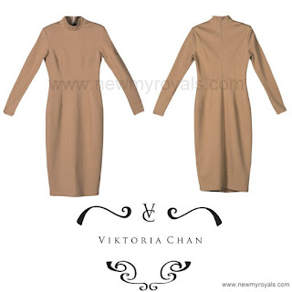 Princess Sofia Style Viktoria Chan Fiona Strerch Dress