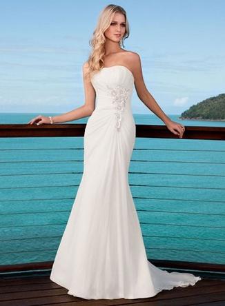 robe de mariage d 39 ete la mode des robes de france. Black Bedroom Furniture Sets. Home Design Ideas