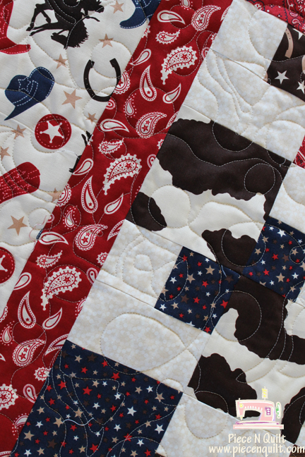 Piece N Quilt A Cowboy Quilt Mesmerizing Western Quilt Patterns