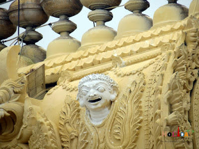 Architecture on the Chamundeshwari Temple in Mysore