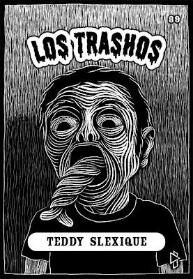 Les Crados - Garbage Pail Kids Tomahawk_twk_los_trashos_039_teddy_slexique