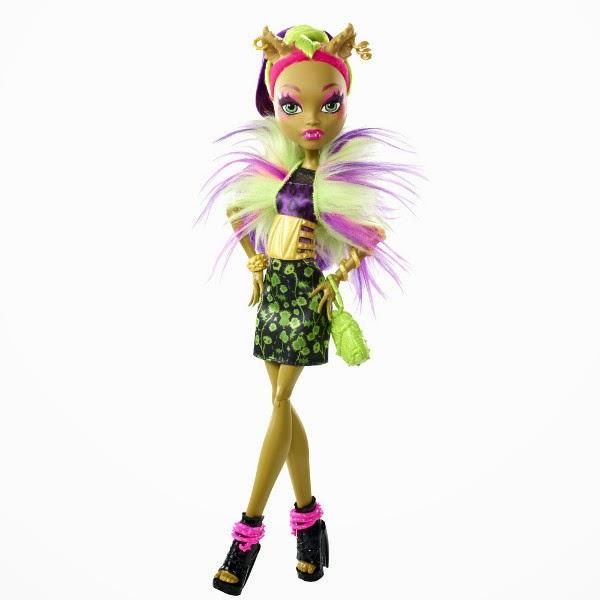 TOYS : JUGUETES - MONSTER HIGH Freaky Fusion   Clawvenus | Muñeca | Doll | Clawdeen Wolf & Venus McFlytrap  Producto Oficial 2014 | Mattel BJR40 | A partir de 6 años