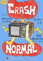 CRASH NORMAL + DESCENTE D'ORGANES en Bar Labranza (Bueu).