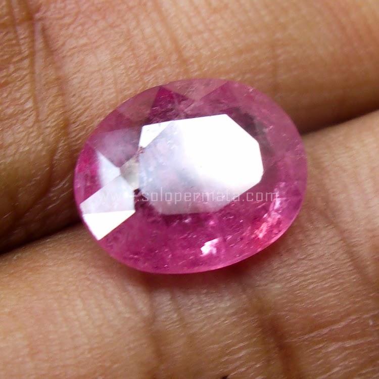 Batu Permata Pink Sapphire - SP511