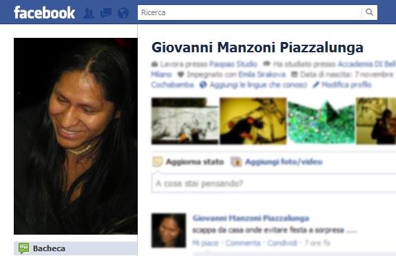 collegamento per facebook