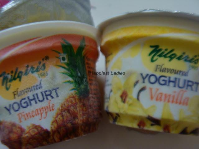 Nilgiris Flavored Yoghurt Review+how to make yogurt