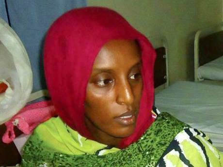 Meriam Ibrahim ,Sudanese woman freed yesterday has been re-arrested at the Airport .