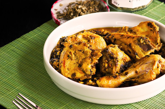 how to cook garlic chicken curry