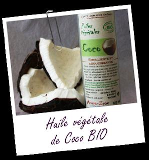 aceite de coco Aroma Zone