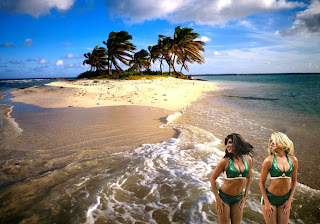Boston Celtics Fans Wallpapers Celtics Cheerleaders in Beautiful Island background