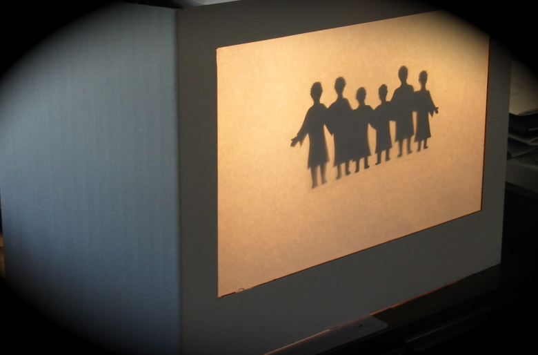Home Made Shadow Puppet Screen