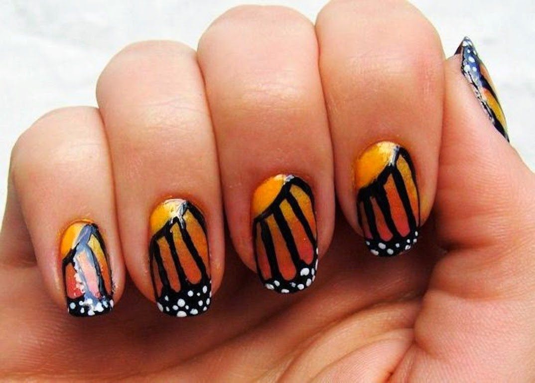 Summer Acrylic Nail Designs with Cute Nail Designs 2014