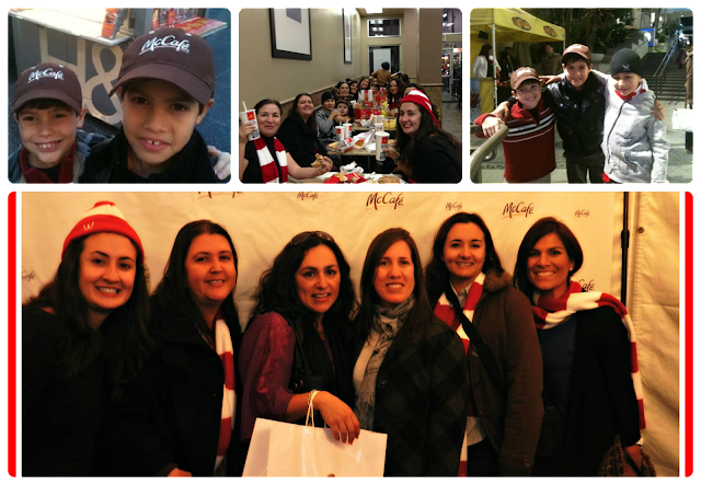 #MuyLatinas en el #McCafeTour Blogueras Hollywood McDonalds
