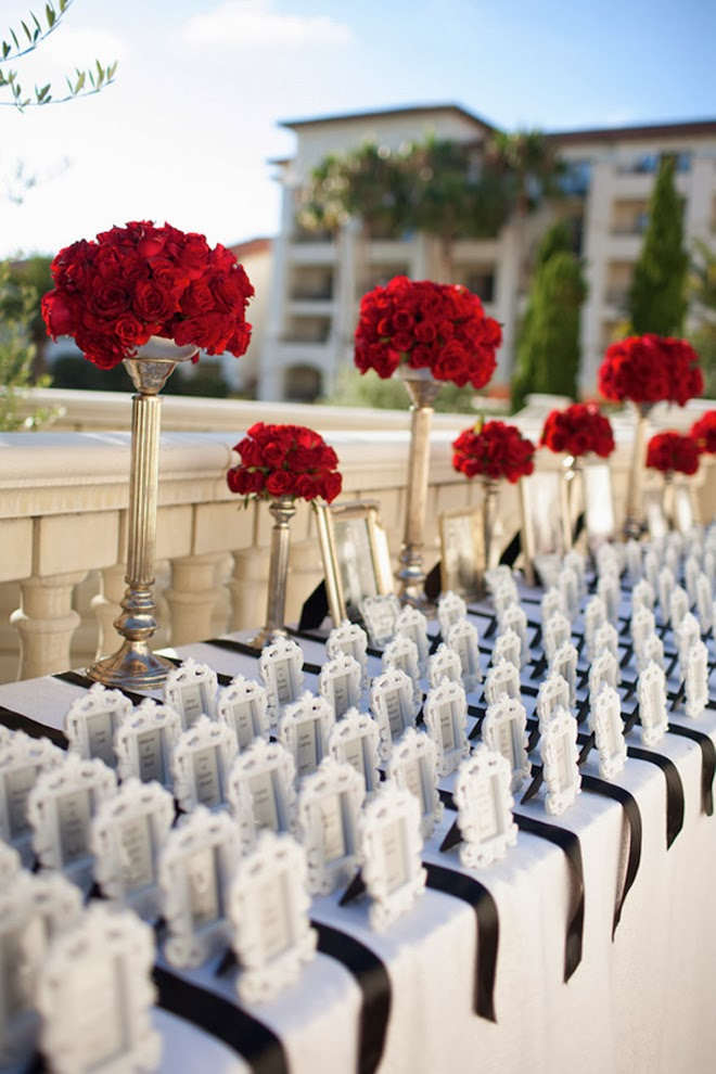 Escort Card Ideas For Every Type Of Wedding Belle The Magazine