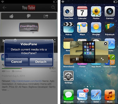 videopane for iPhone