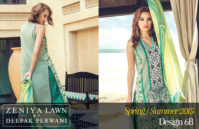 Stylish, Spring Summer, Sleeveless, Pakistani Lawn.