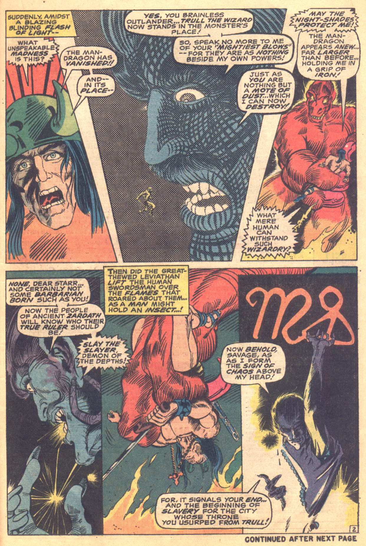 Conan the Barbarian (1970) Issue #16 #28 - English 14