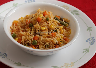 Mexican Veggie Rice