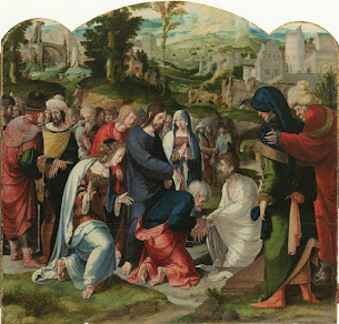 Illustrating Miracles – The Raising of Lazarus