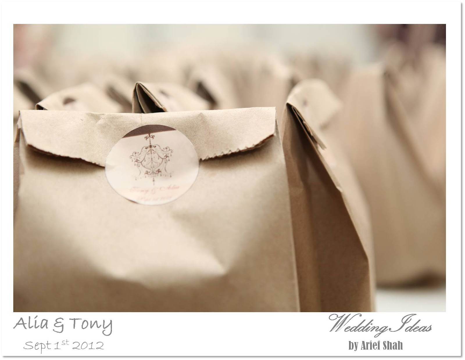 Wedding ideas teratak cinta by wedding ideas for Idea for door gift