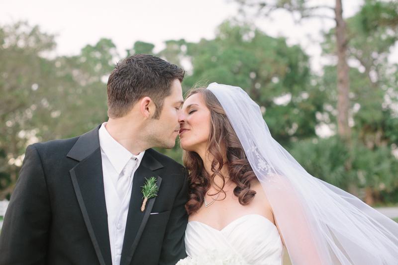 palm beach florida wedding bride and groom photo