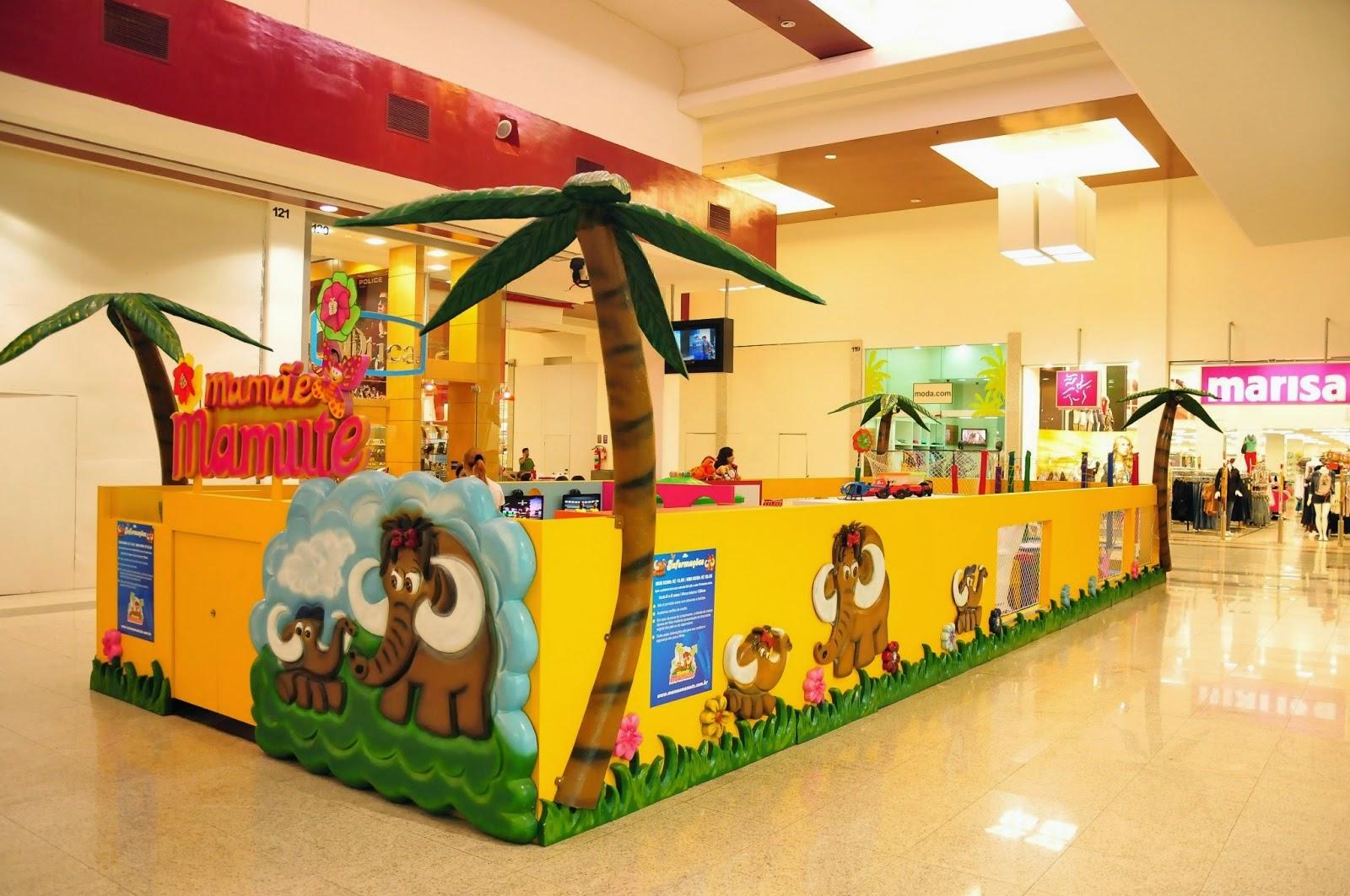 A criançada terá espaço garantido para diversão em Vitória de Santo Antão.  Direto do Rio Grande do Norte chega ao Vitória Park Shopping, o Mamãe  Mamute, ... b6bf754d1a