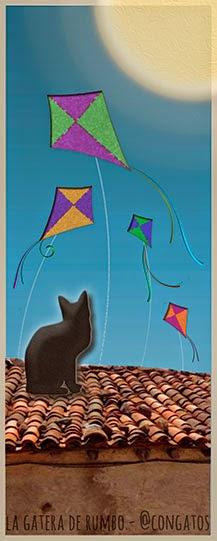 Gato sobre tejado de día_Gatera de Rumbo