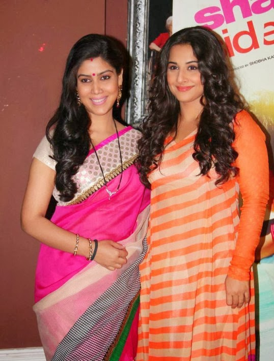 Vidya Balan and Sakshi Tanwar