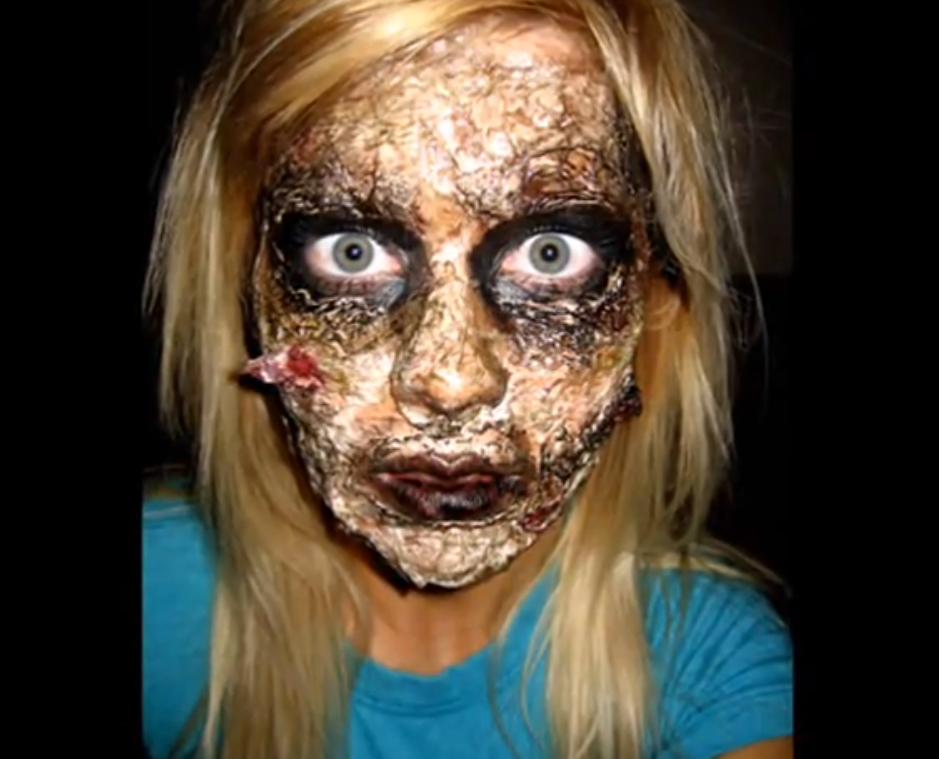 House2HomeMarriedLife - Really Good Halloween Makeup