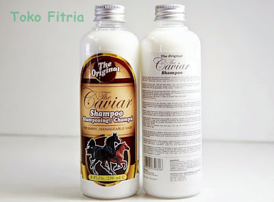 Caviar shampoo solusi terbaik untuk atasi kerontokan
