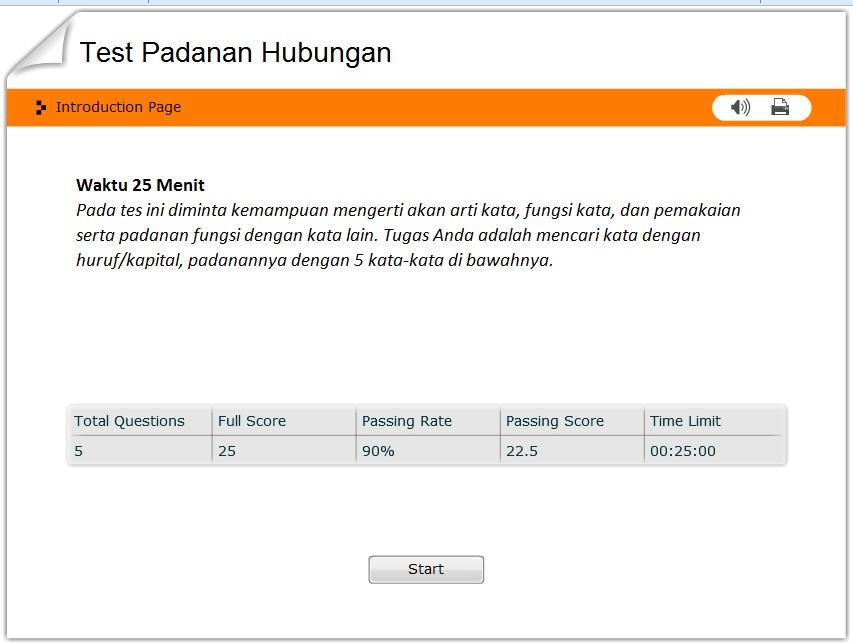 Contoh Simulasi Tes Cpns Online Cat Informasi Pendidikan Indonesia