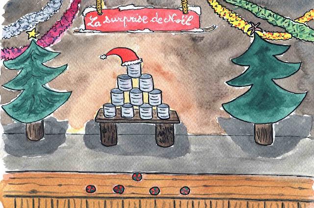 course aux cadeaux