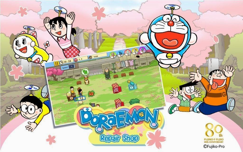 Doraemon Repair Shop: Game Buat Kamu yang Suka Doraemon
