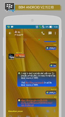 Preview BBM Transparent