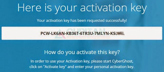 CyberGhost 5 VPN Premium Gratis 6 Bulan Licence Key