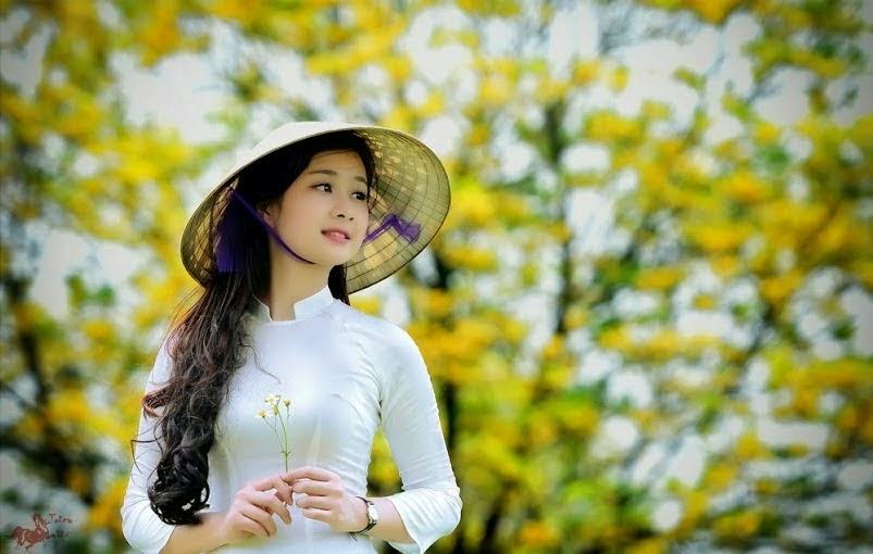 Ảnh gái đẹp diệu dàng trong tà áo dài 33