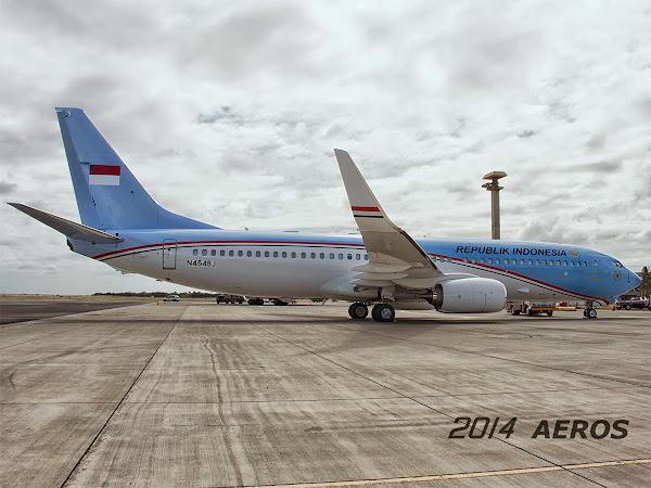 Inilah Spesifikasi Pesawat Kepresidenan RI