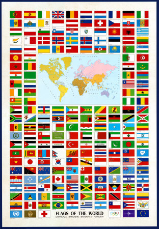 World+flags+with+names+and+pictures