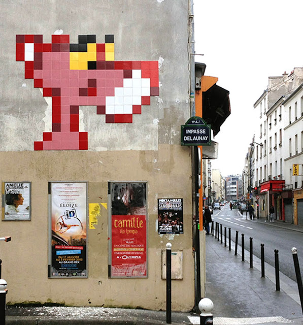 Invader New Invasion In Paris, France StreetArtNews