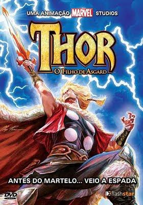 Capa - Thor: O Filho de Asgard