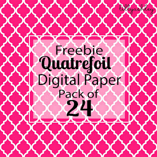 Free Quatrefoil Paper Printables Backgrounds