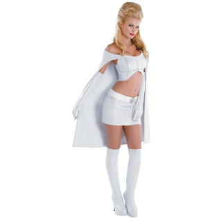 In light of the movie X,Men First Class, a great choice would be this Emma Frost Halloween costume thats just amazingly HOT! If you can handle being the \u0026quot;