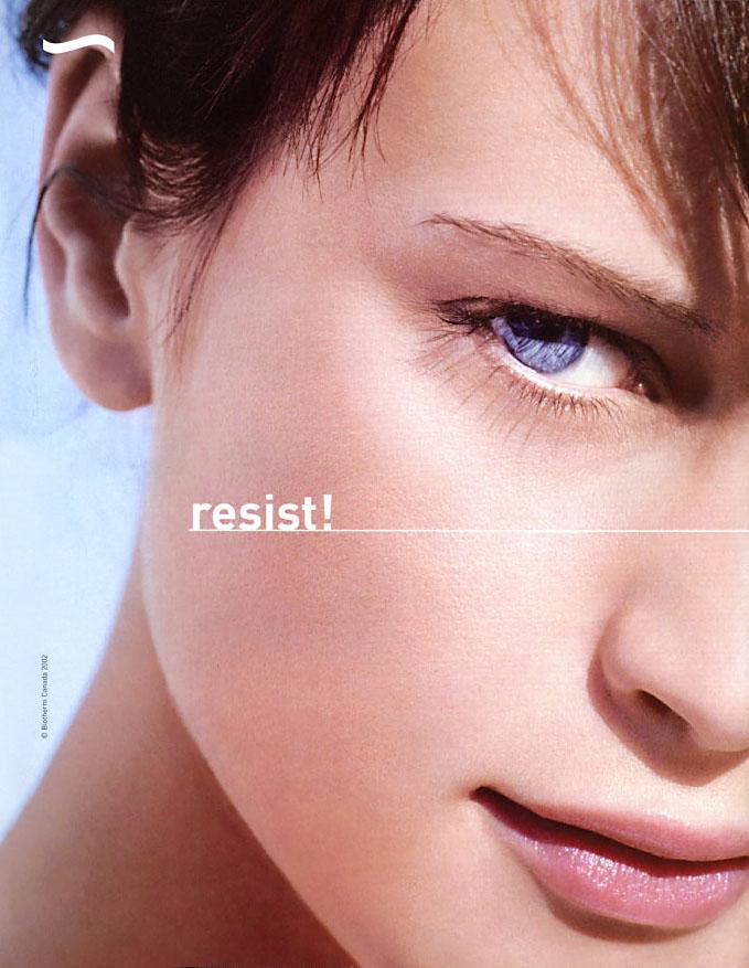 Natalia Semanova Biotherm campaign