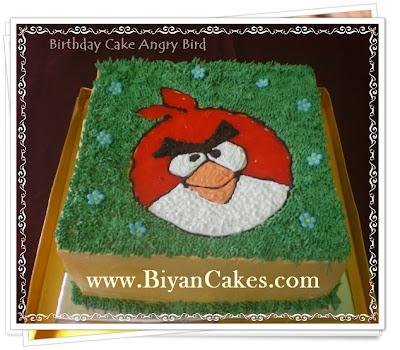 Jual Kue Ulang tahun Anak di bekasi : Angry Bird